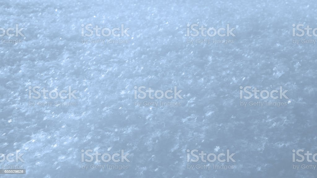 Winter snowflakes background image. stock photo