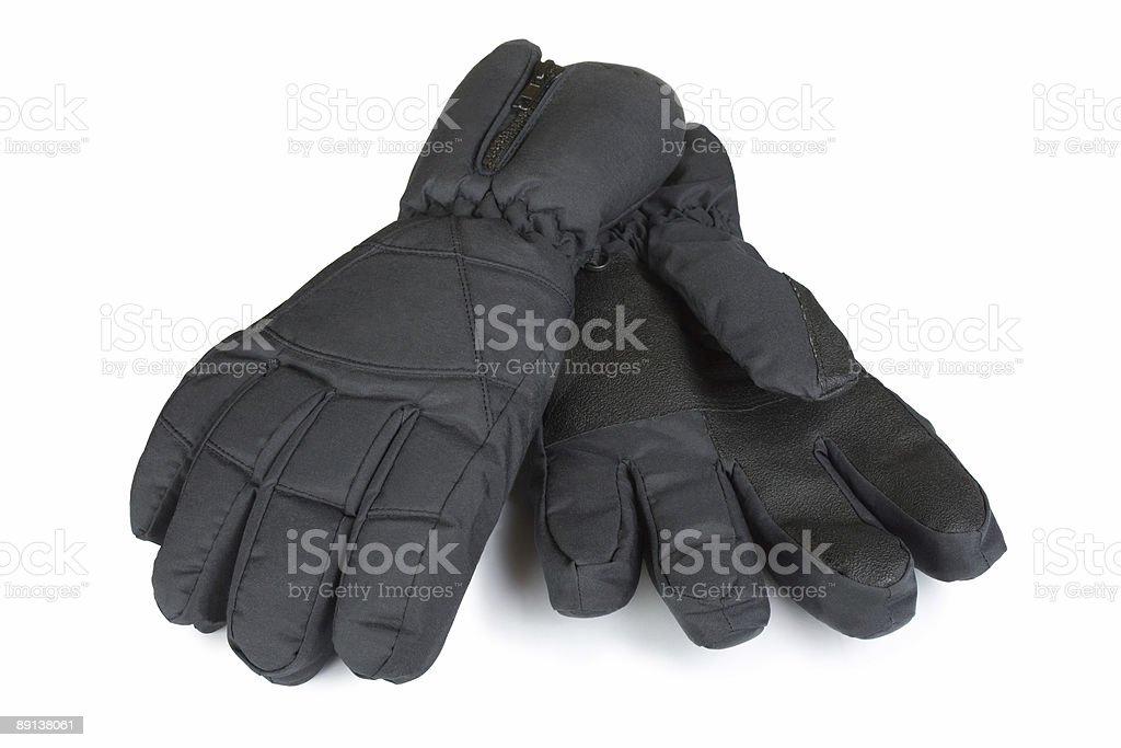 Winter sport gloves royalty-free stock photo