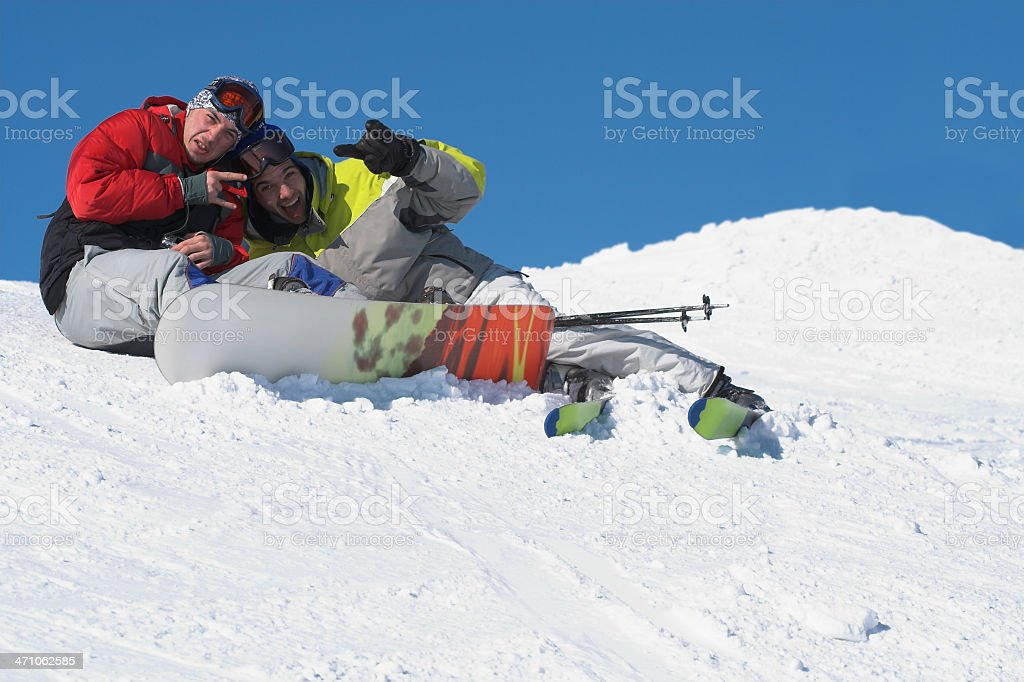 Winter sport lifestyle concept royalty-free stock photo