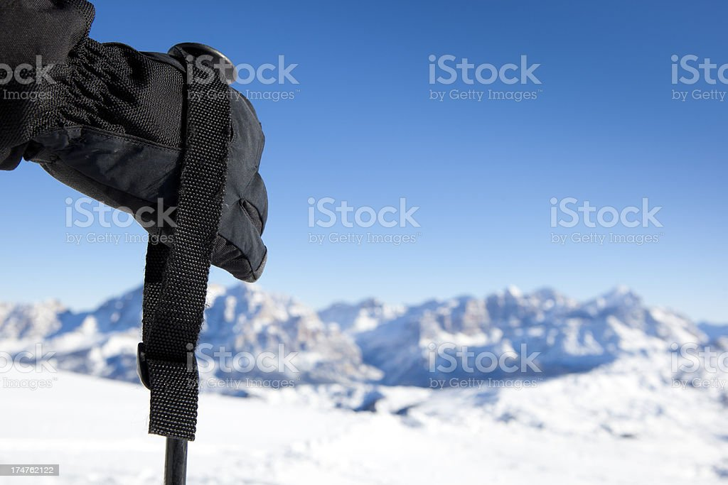 Winter sport royalty-free stock photo
