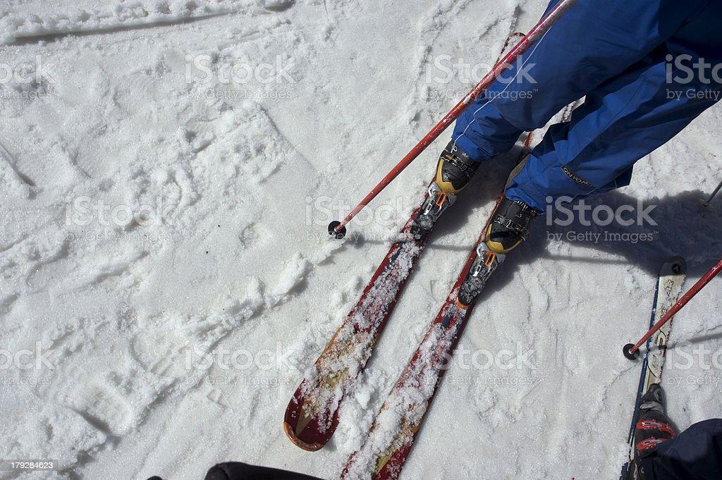 Deporte de invierno royalty-free stock photo
