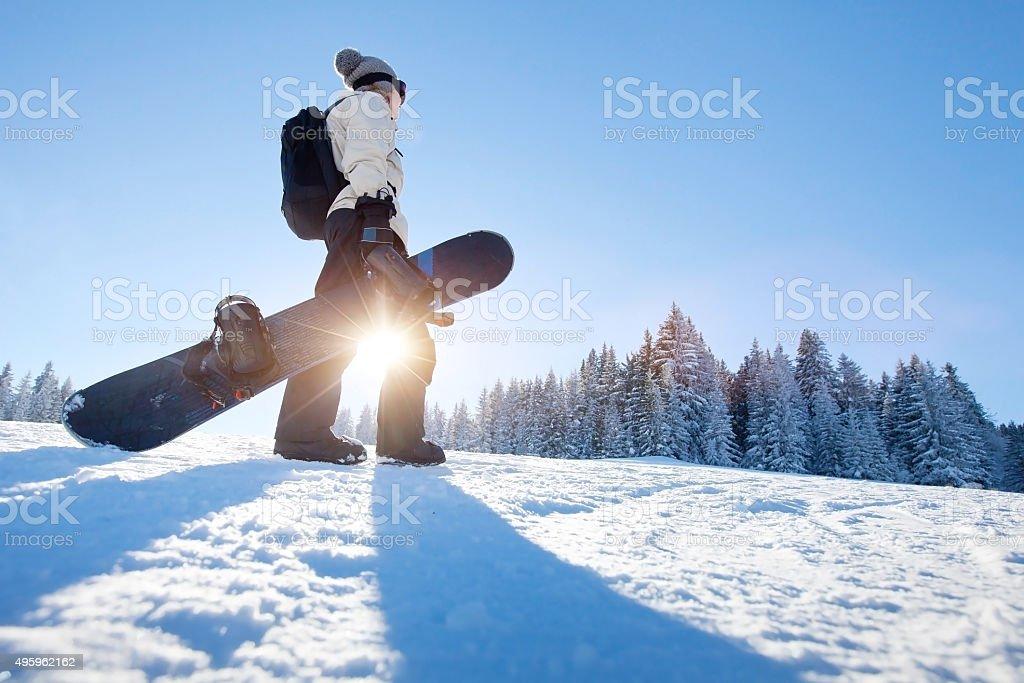 winter sports stock photo