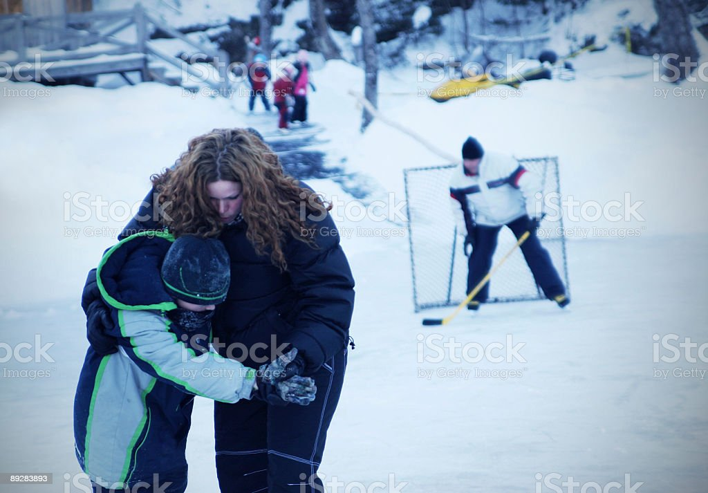 Winter sports royalty-free stock photo