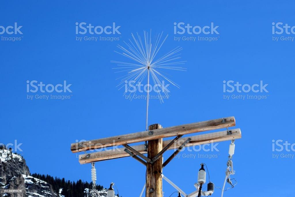 Winter Star stock photo