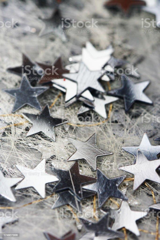 Winter Stars royalty-free stock photo
