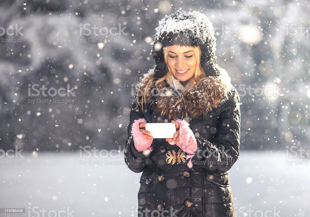 Winter stories royalty-free stock photo