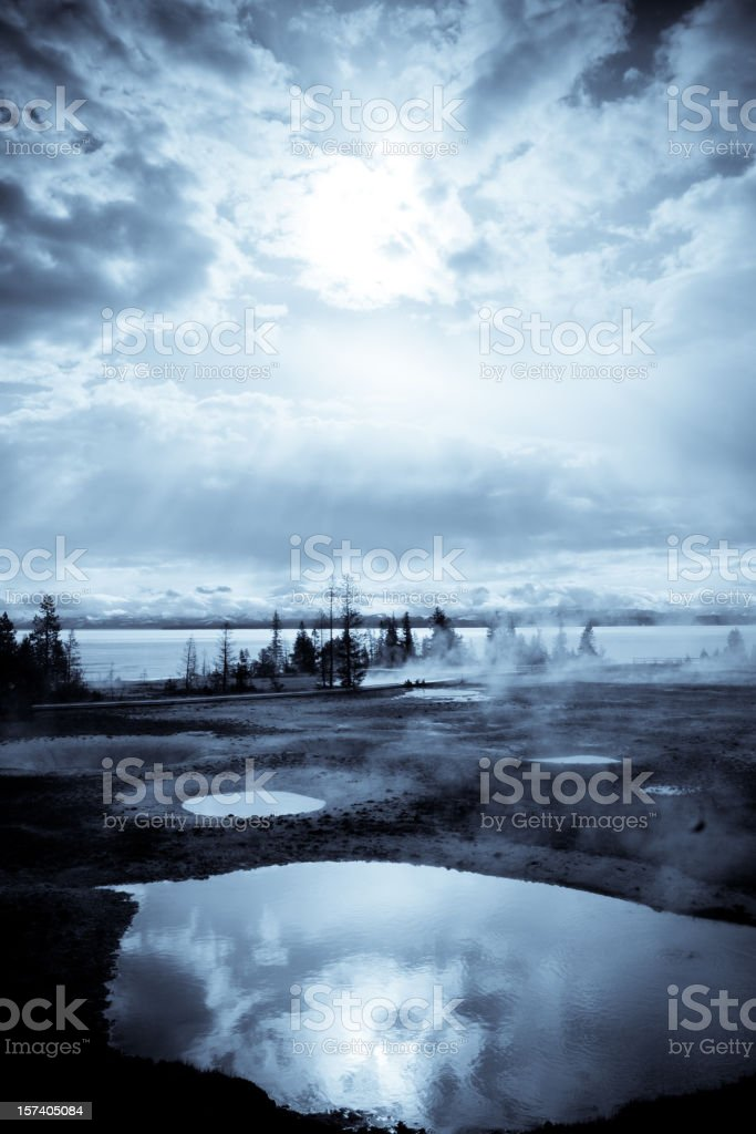 Winter Storm royalty-free stock photo