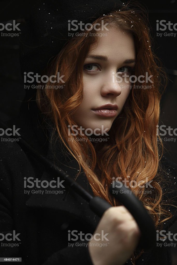 Winter Style stock photo