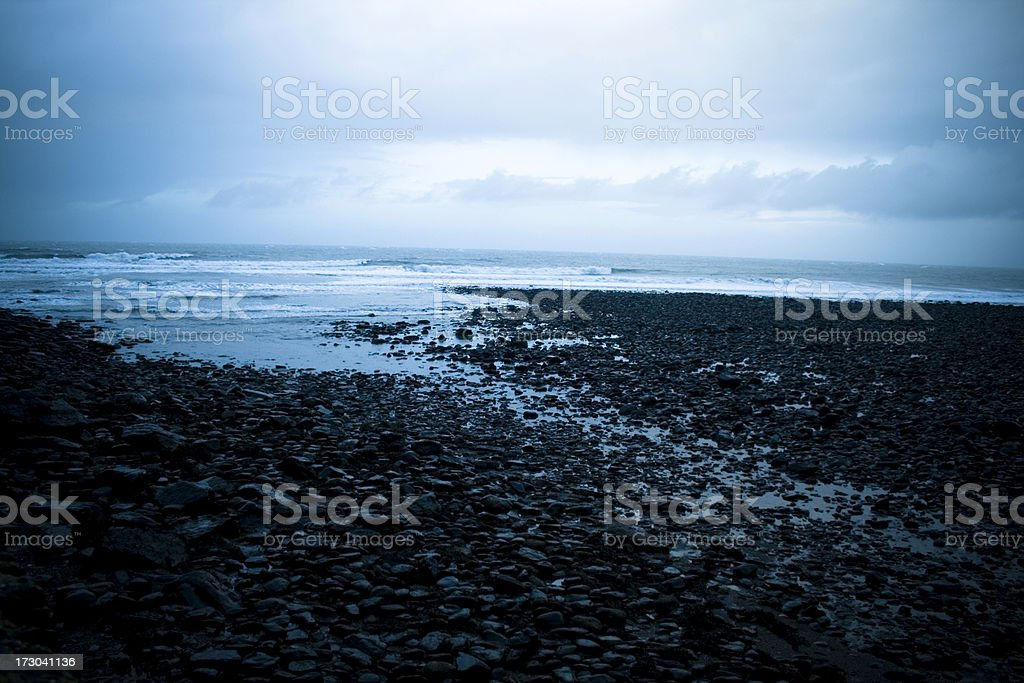 Winter Surf royalty-free stock photo