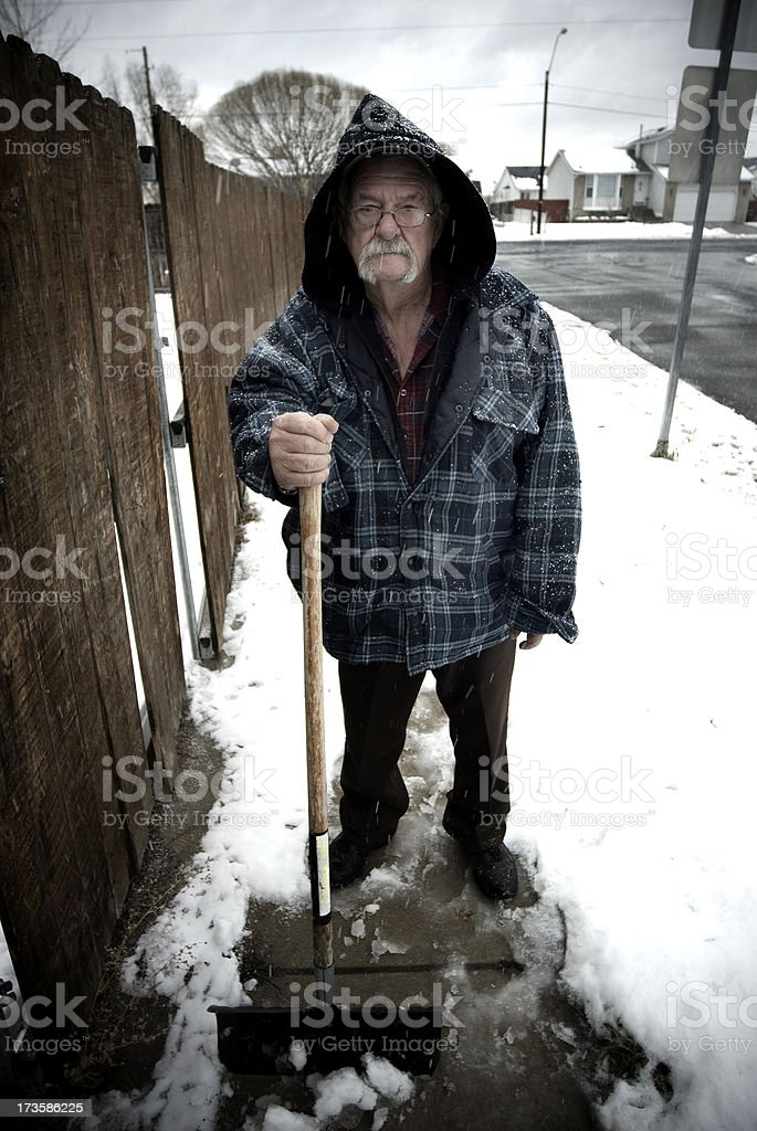 Winter Time Blues royalty-free stock photo