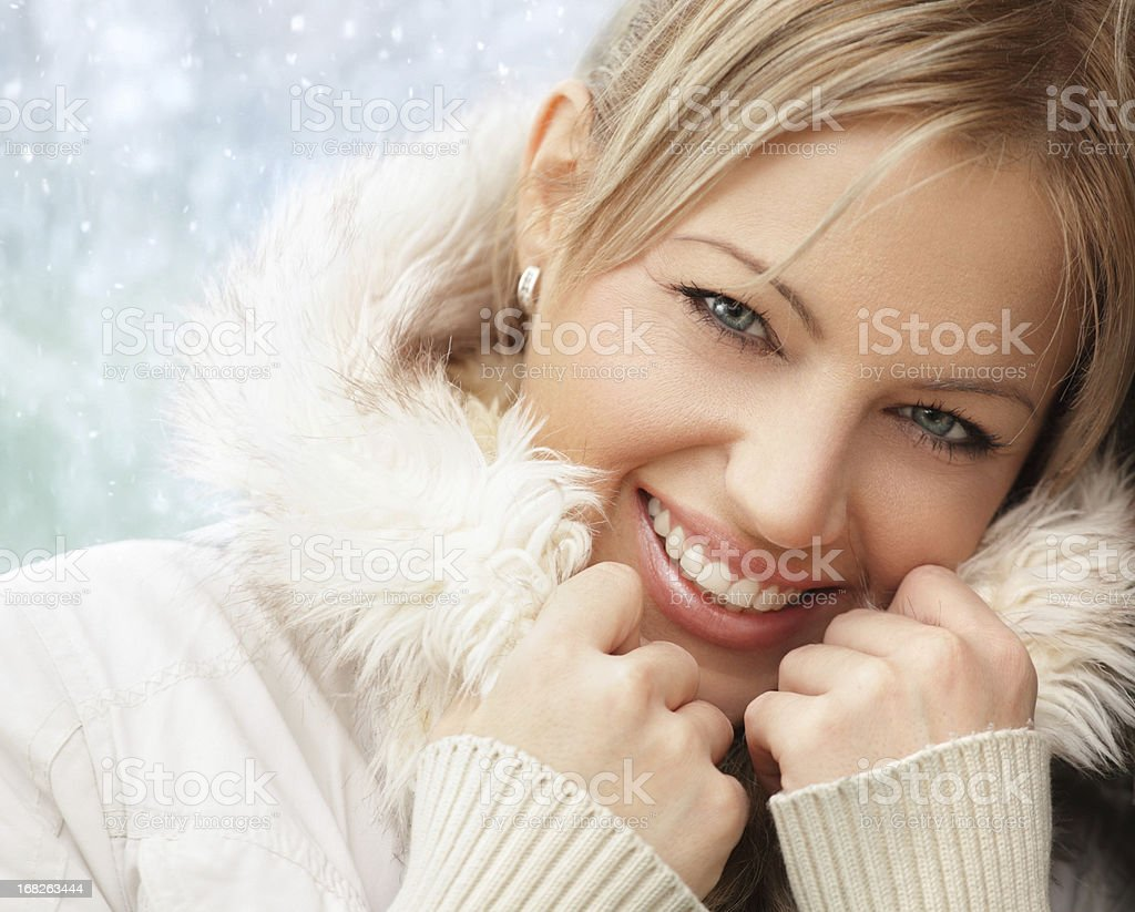 Winter time. stock photo