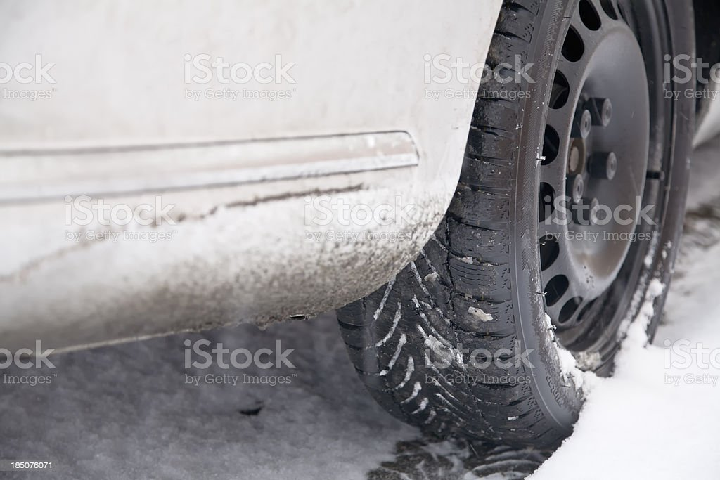 winter tire royalty-free stock photo