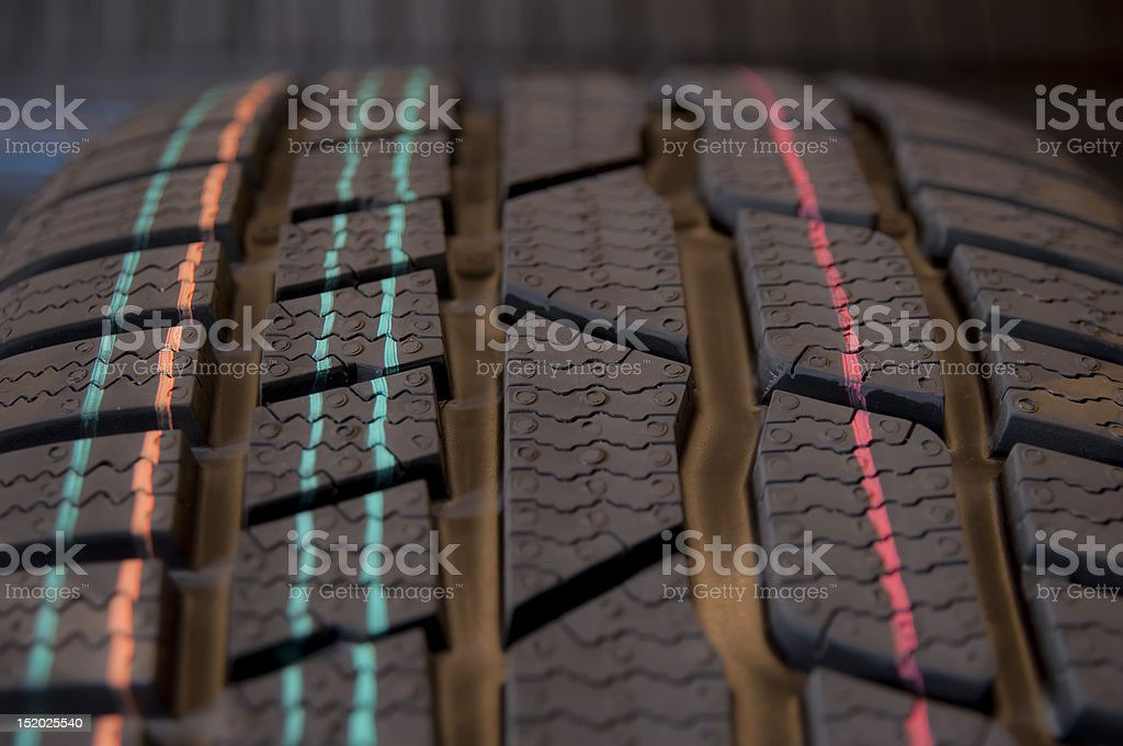 winter tires royalty-free stock photo