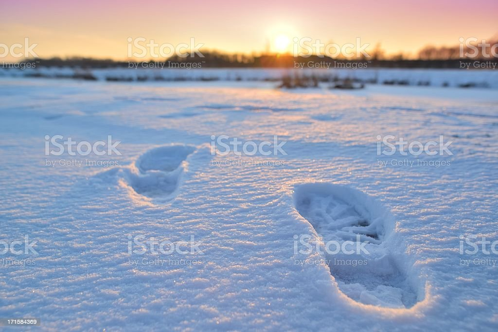 Winter Travel royalty-free stock photo