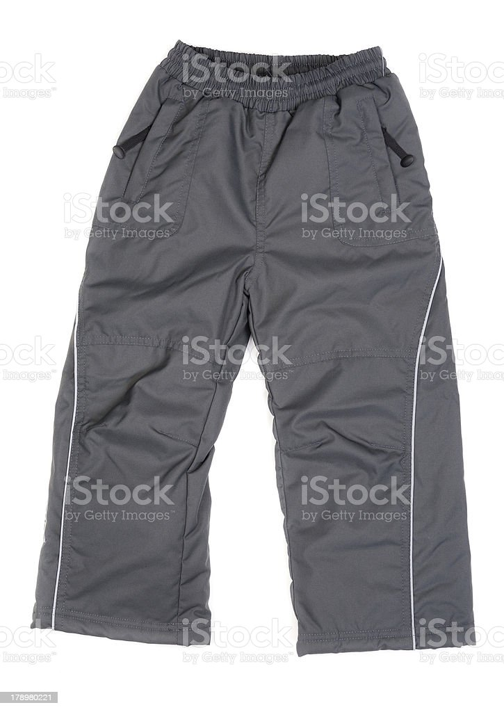 Winter trousers royalty-free stock photo