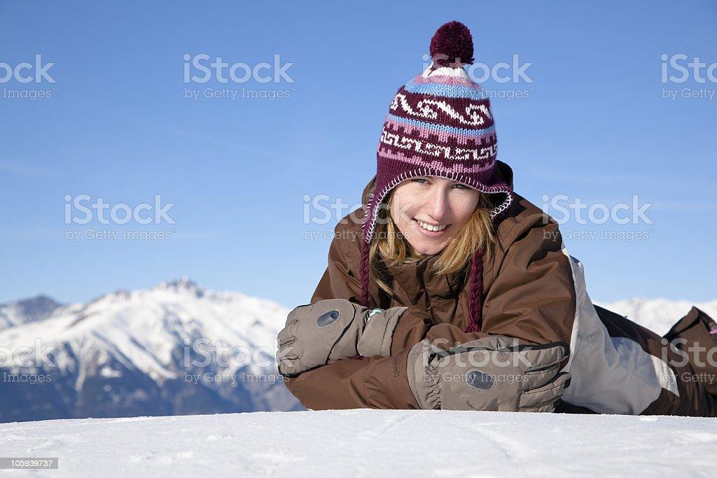 winter vacations royalty-free stock photo