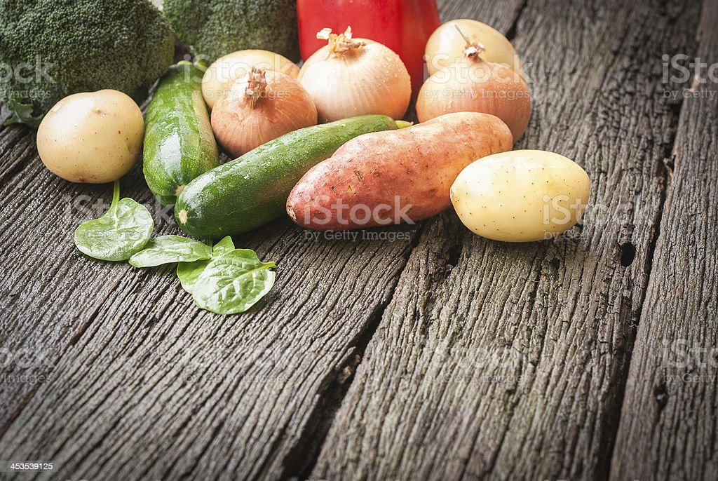 Winter vegetables royalty-free stock photo