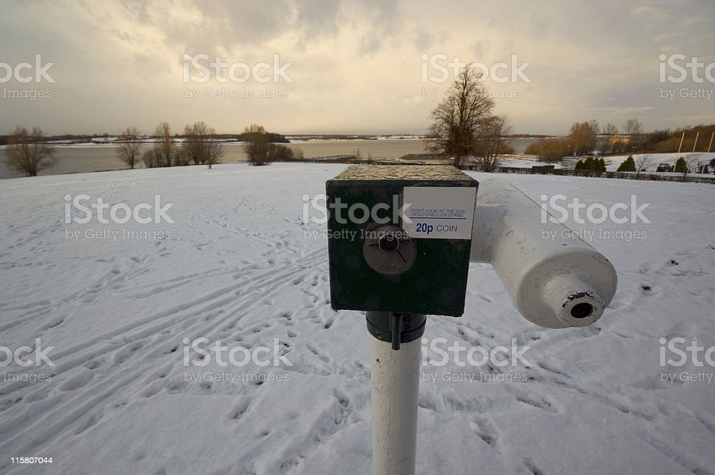 Winter view 2 royalty-free stock photo