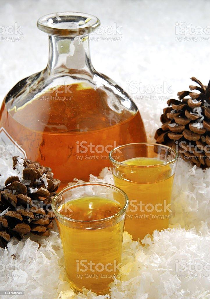 Winter Warm Up royalty-free stock photo