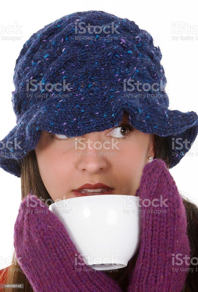 Winter Warmth stock photo