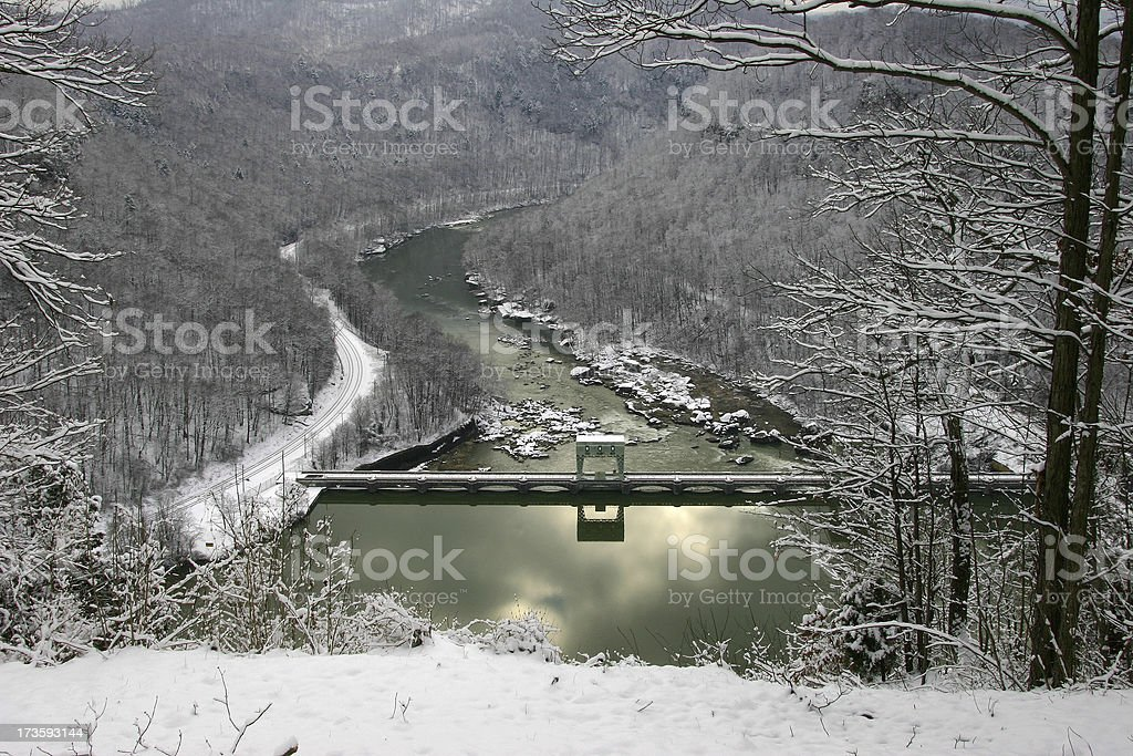 Winter Water royalty-free stock photo