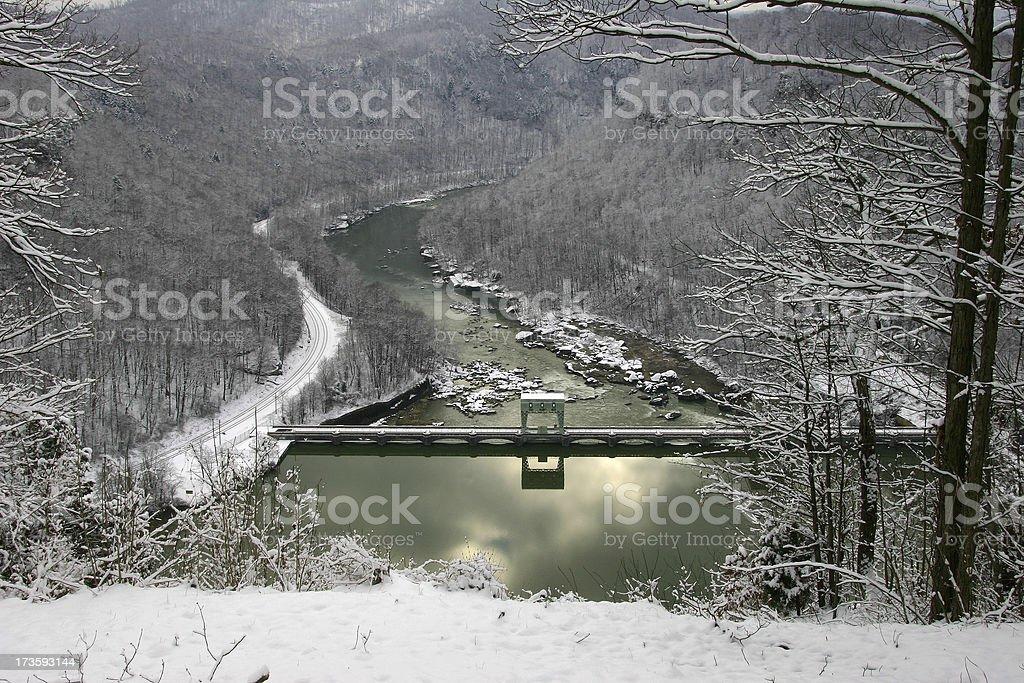 Winter Water stock photo