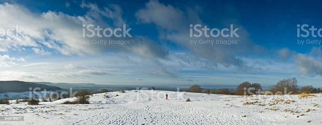 Winter weekend royalty-free stock photo