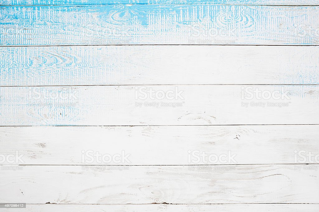 Winter wooden background stock photo