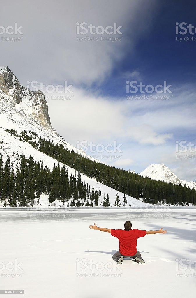 Winter Worship royalty-free stock photo