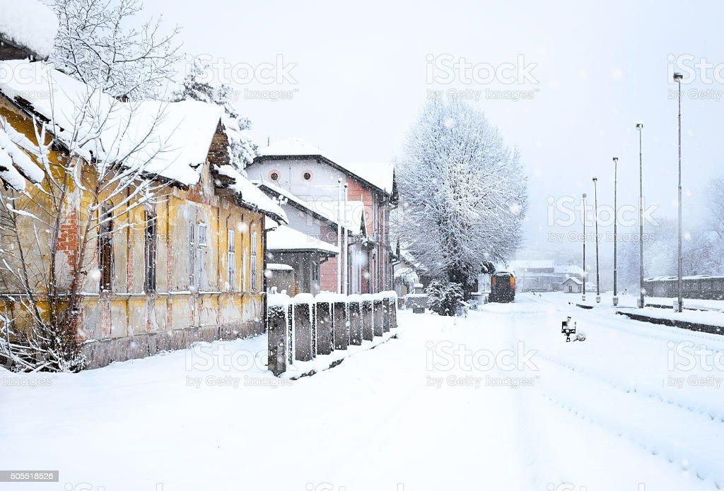 winter_railway royalty-free stock photo
