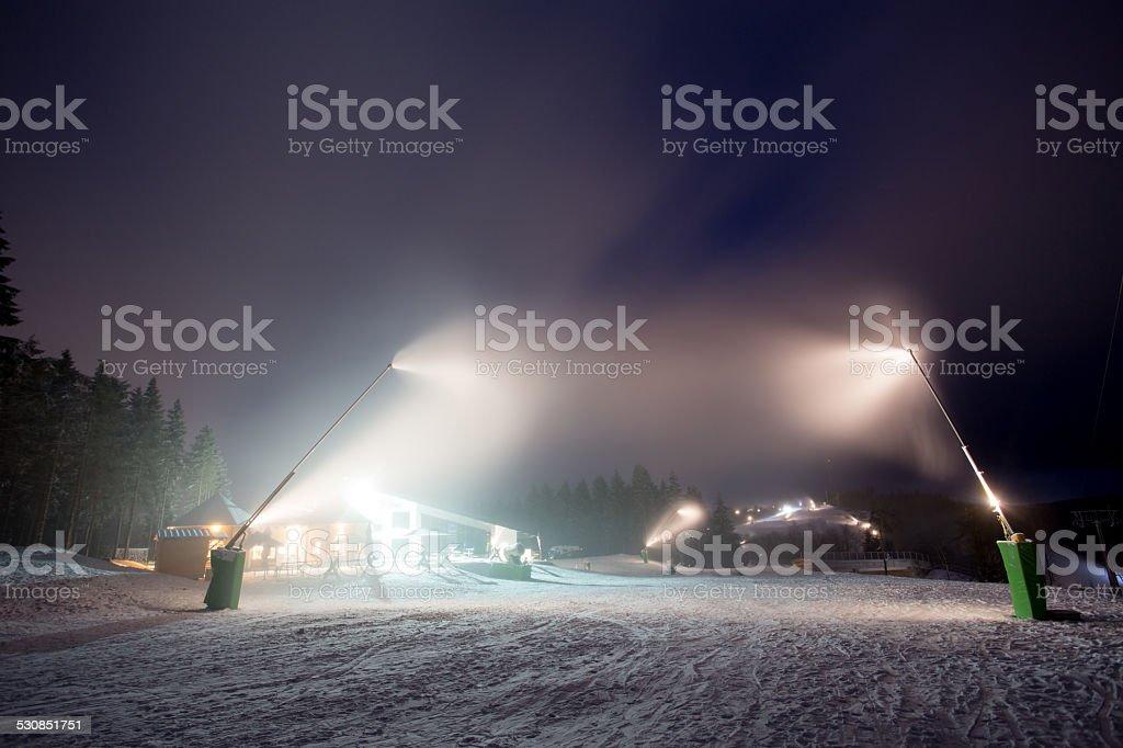 winterberg germany at night stock photo