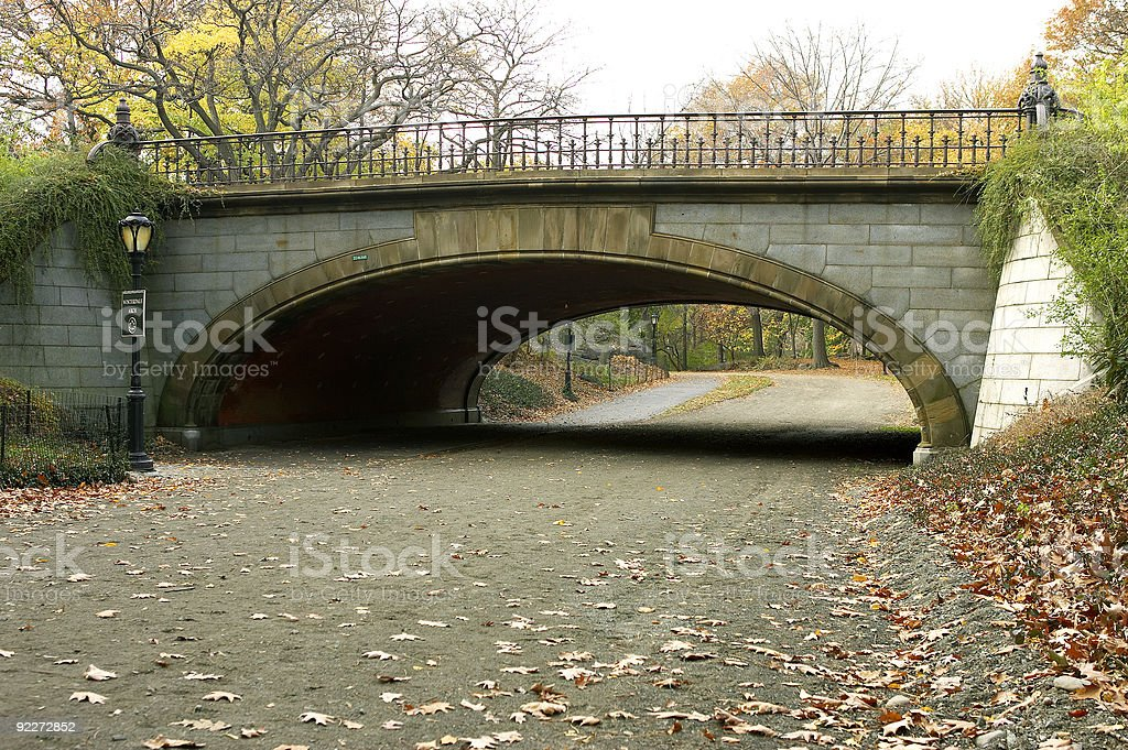 Winterdale arch stock photo