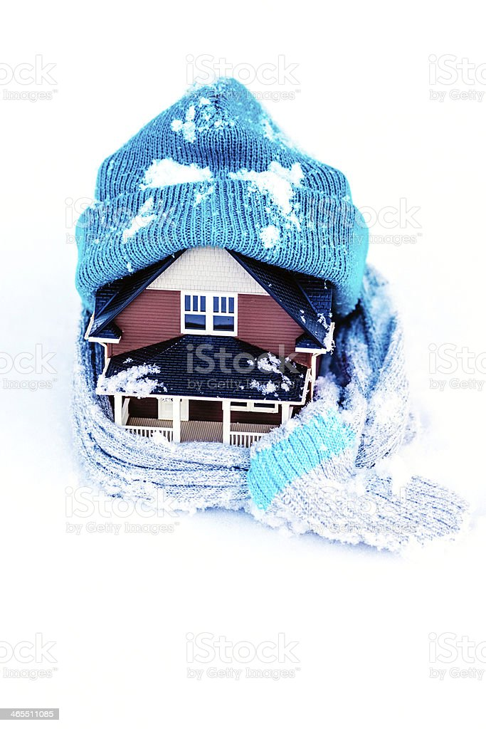 Winterize Your Home stock photo