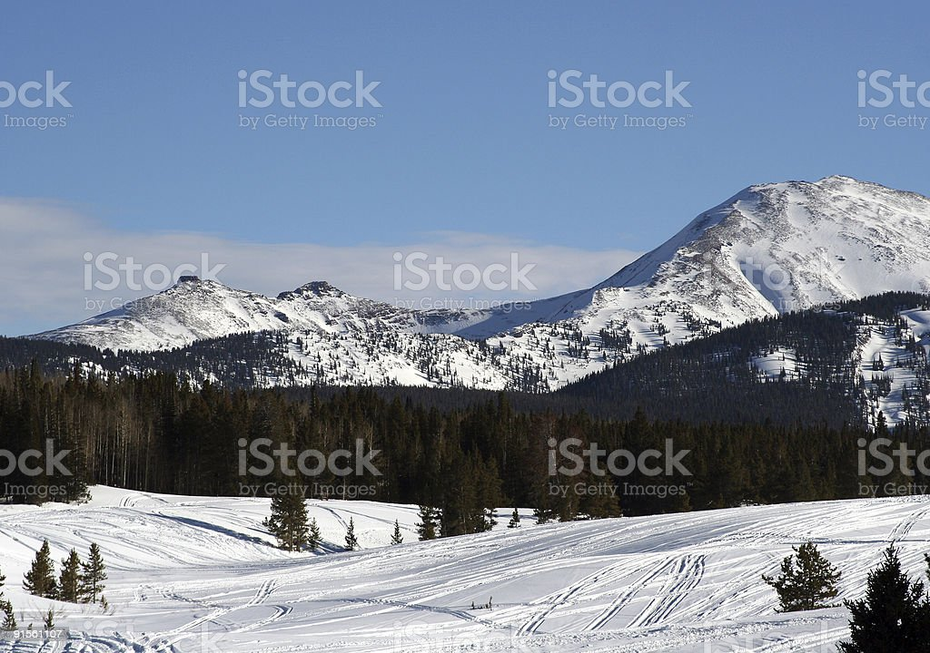 Winterscape royalty-free stock photo