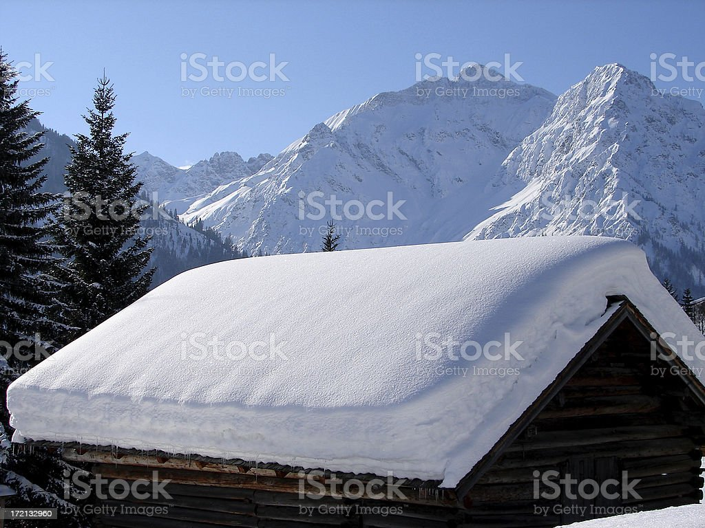 wintertide royalty-free stock photo