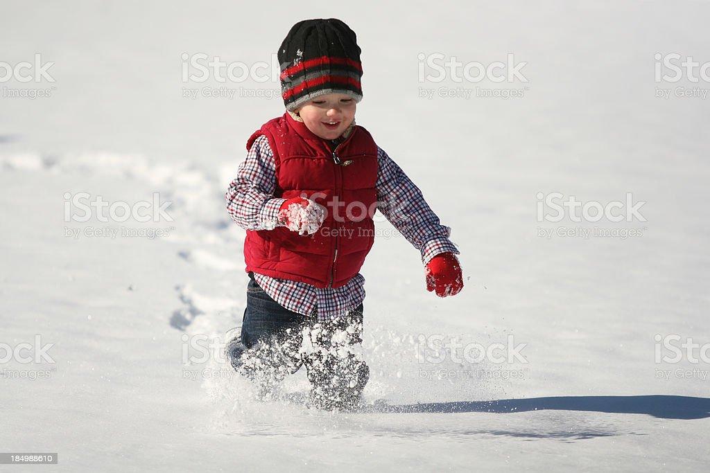 Wintertime Fun stock photo