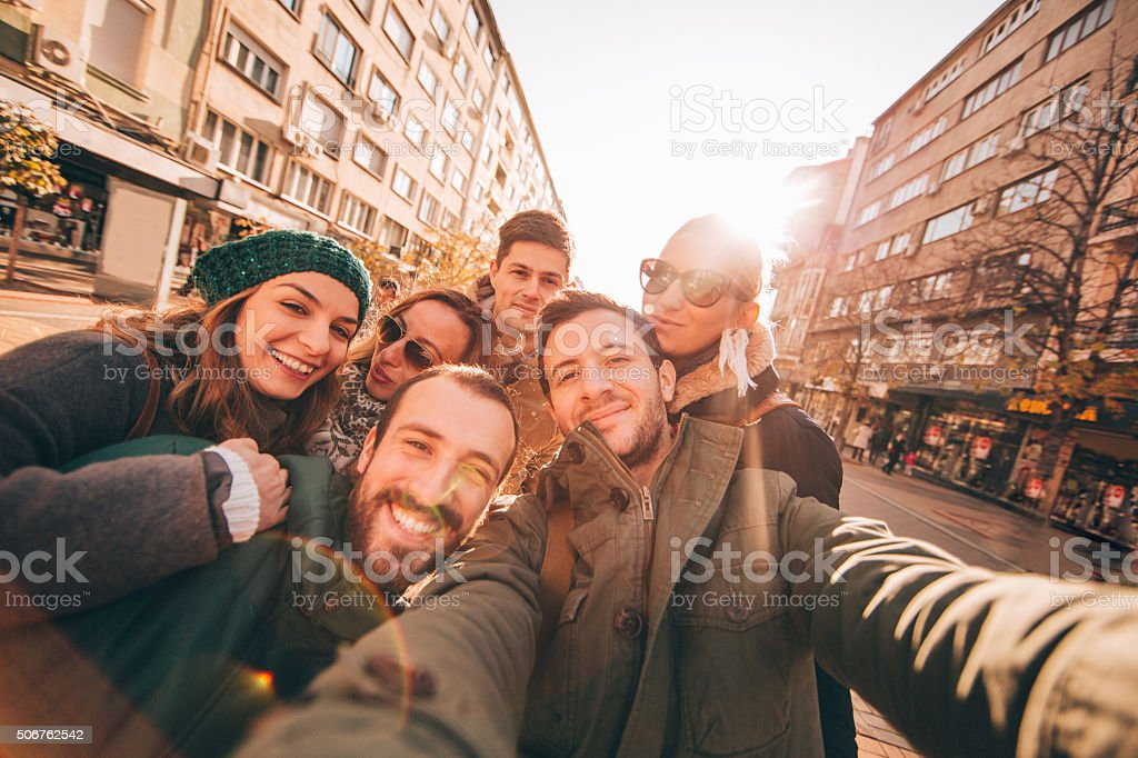 Wintertime moments stock photo