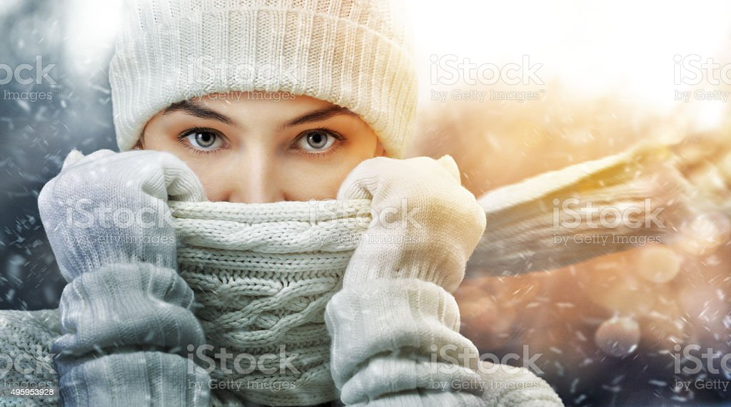 wintertime stock photo