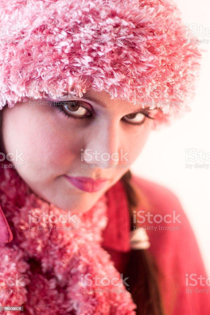Wintery Pink stock photo