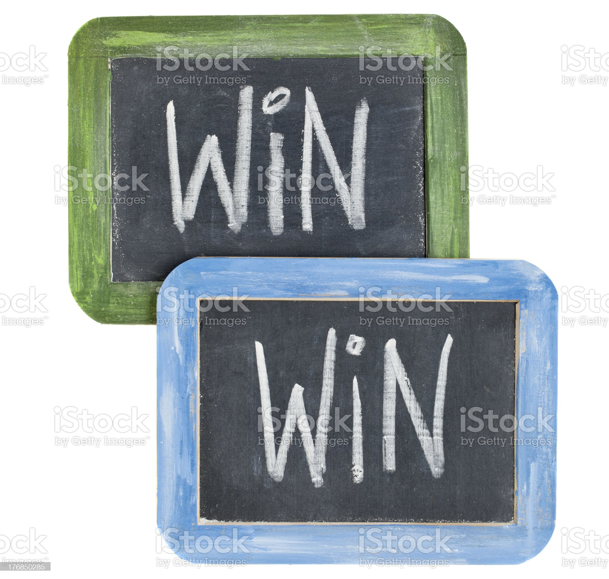 win-win concept royalty-free stock photo