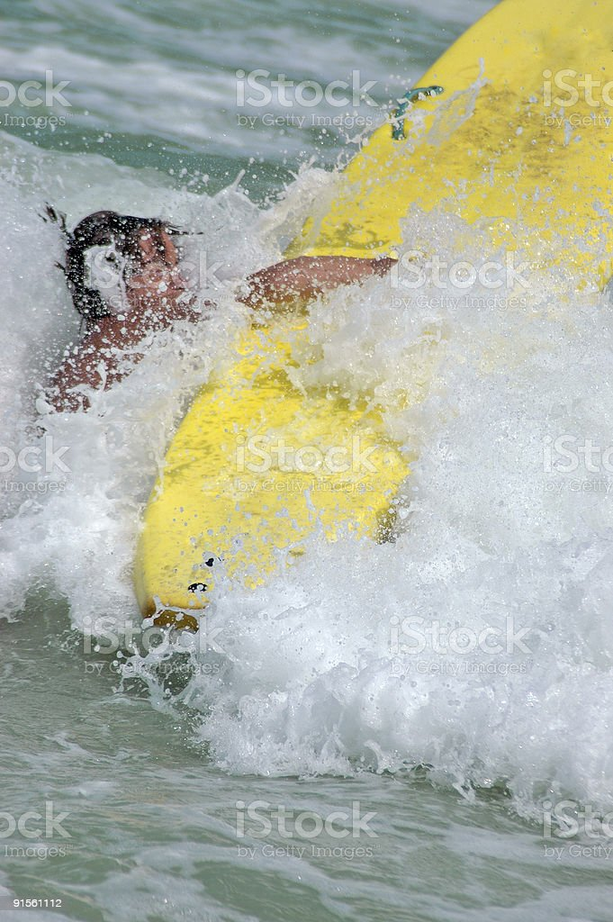 wipe out royalty-free stock photo