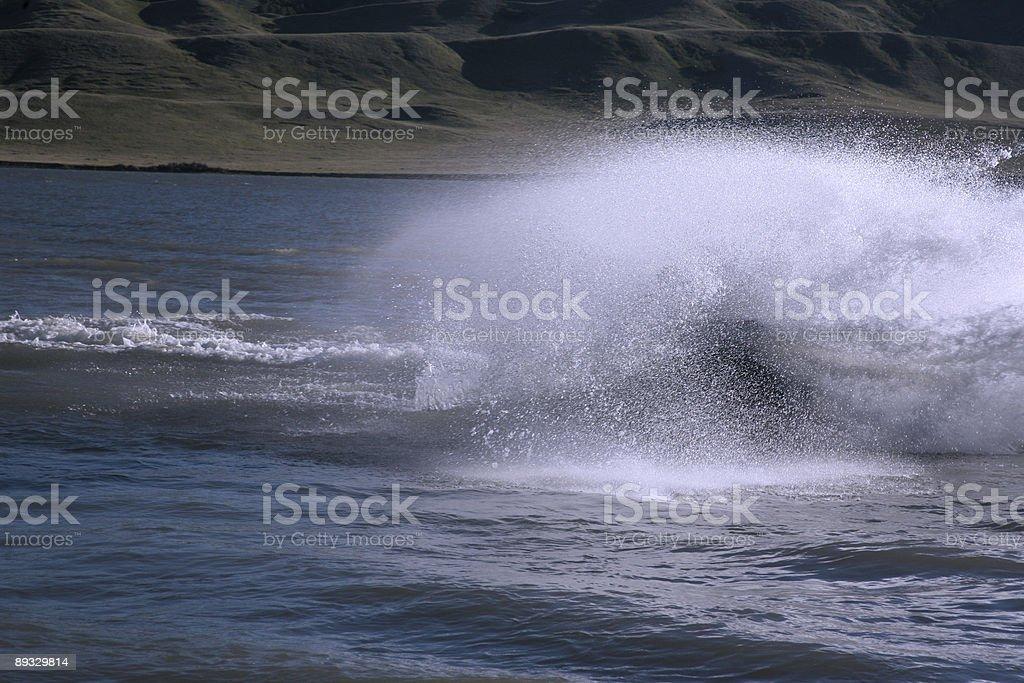 wipeout stock photo
