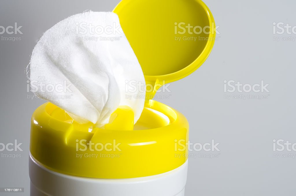 Wipes royalty-free stock photo