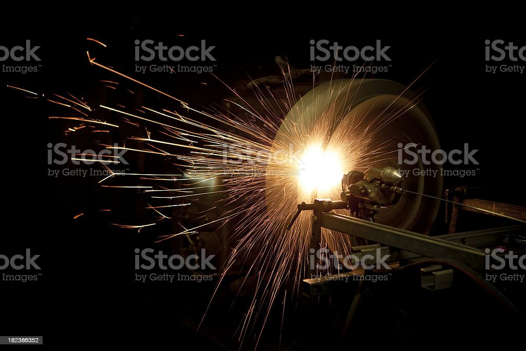 Wire coating royalty-free stock photo