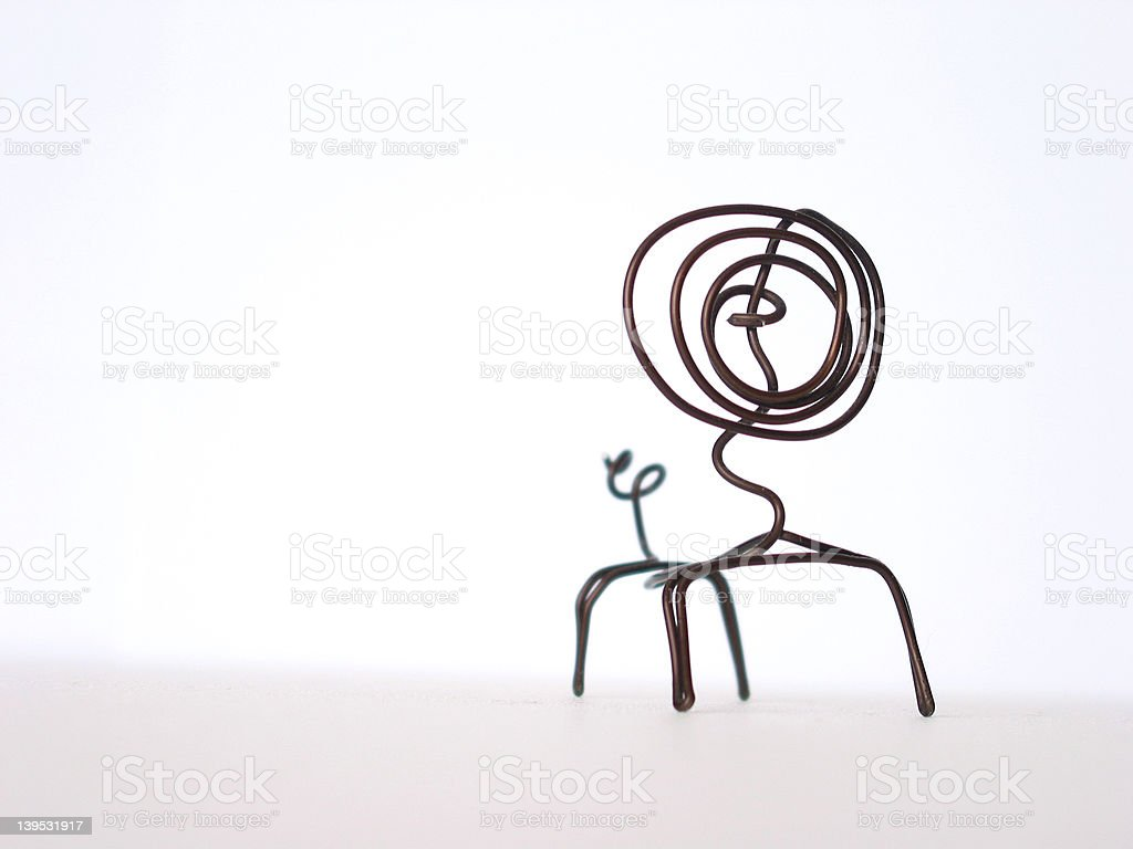 Wire Critter royalty-free stock photo