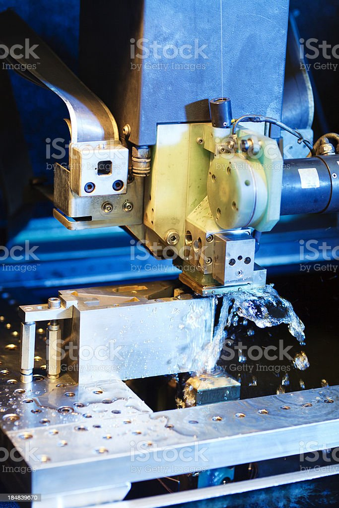 Wire Erosion Machine royalty-free stock photo
