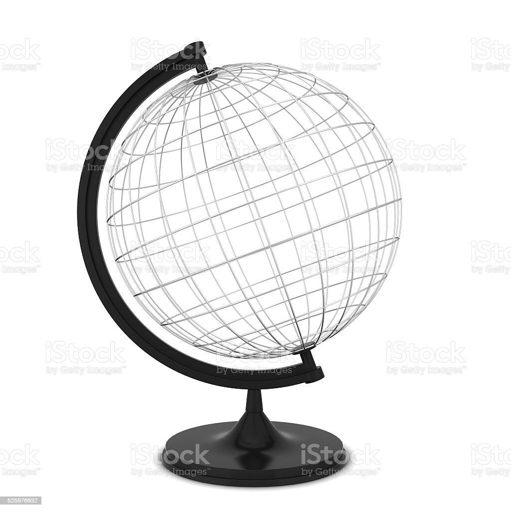 Wire globe stock photo