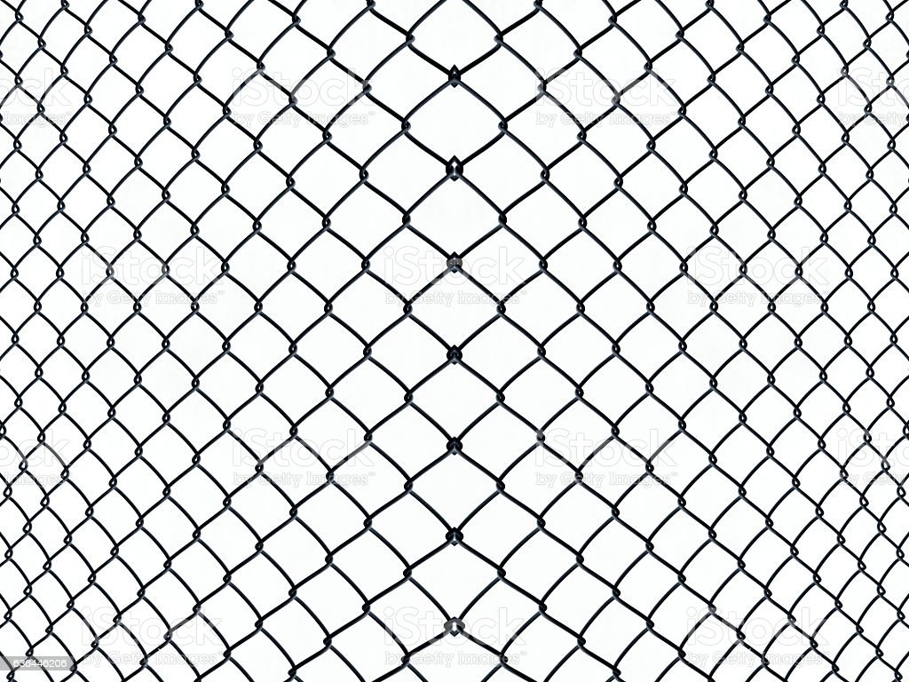 Wire mesh fence textured background stock photo