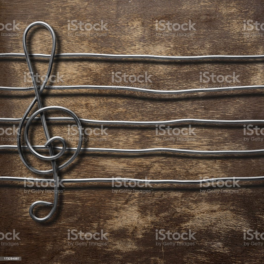 wire music background royalty-free stock photo