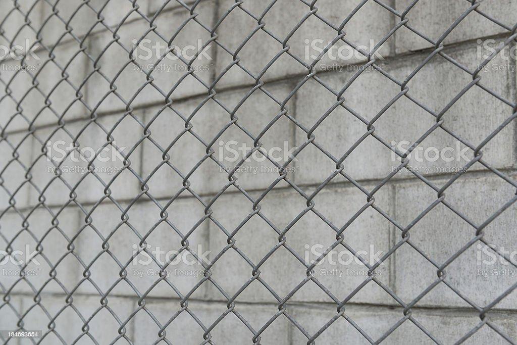 wire netting wall stock photo
